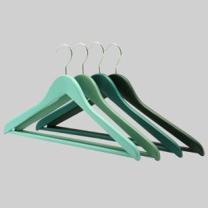 Yeelin Lotus древесины красочные верхней части вешалки для одежды