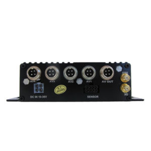 4CH Ahd 720p Mobile Dvr para Bus/Camión con GPS/4G/WiFi