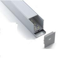 Profilo di alluminio sospeso d'attaccatura del LED per l'indicatore luminoso di striscia lineare Pendant del LED