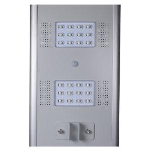 50W 60W Openlucht integreerde allen in Één LEIDENE ZonneStraatlantaarn/Lamp met de Batterij van het Leven Po4