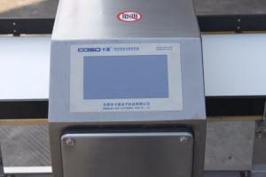 음식을%s 접촉 스크린 컨베이어 금속 탐지기