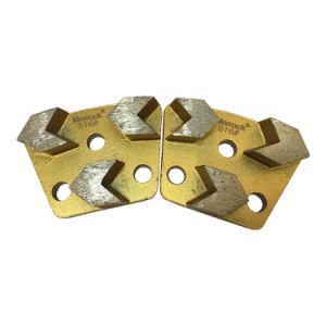 Pattini stridenti del diamante 3 segmenti delle frecce che frantumano lamierina 16#