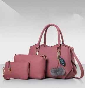 Commerce de gros Jeu de 3 PCS Un sac à main Lady Handbag sac des femmes