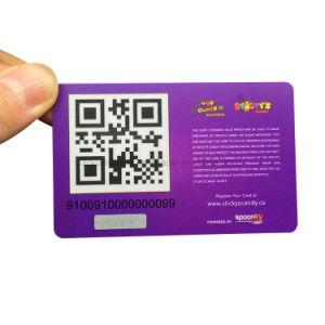 Scheda su ordinazione del regalo di natale di prezzi poco costosi Plastic/PVC per la promozione