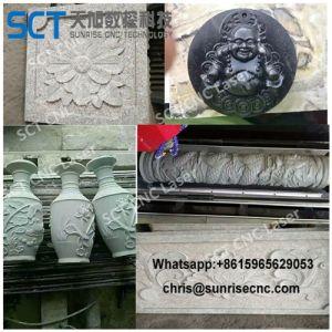 高品質の彫刻の石CNCのルーターZk1215
