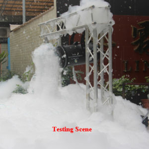 Efecto de la etapa de discoteca 1200watt colgando de la máquina de espuma Party