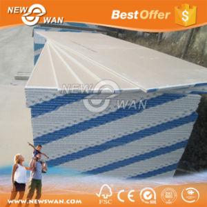 Plaques de plâtre cartonné / Panneau de cloisons sèches (standard, résistant à l'humidité, d'incendie la preuve, la preuve de l'eau)