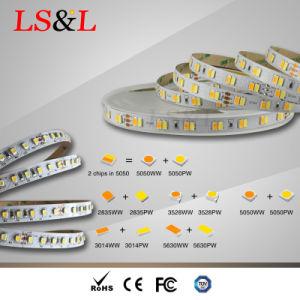 Cct-wasserdichte/Nicht-Wasserdichte 2835LEDs Streifen-Licht-Fabrik der hohen Helligkeits-LED