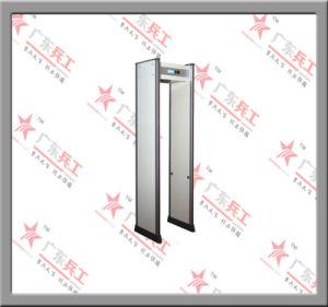 Pantalla LCD Water-Proof Paseo por el detector de metales