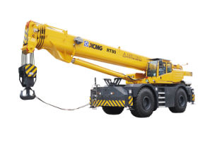 Funzionario di XCMG gru Rt90u del terreno di massima da 90 tonnellate