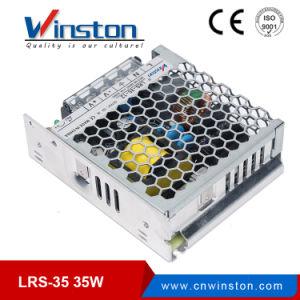 35W de saída única SMPS AC 220V para 5V CC 12V 24V 36V 48V DC comutação de LED de Alimentação com marcação, RoHS (LRS-35)