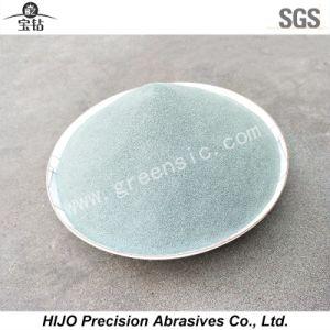 Grünes Karbid-Puder des Silikon-F320 verwendet, wenn Juwelen aufbereitet werden