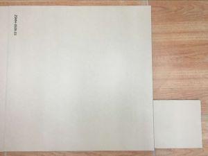 De aangepaste Tegel van de Vloer van het Porselein van het Ivoor Witte Rustieke (600X600)