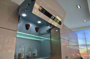 中国の卸し売りカスタマイズされた光沢度の高いポリウレタン紫外線2 PAC金属現代ラッカー食器棚