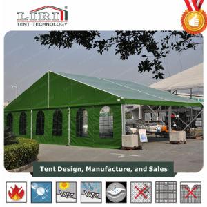 tent van het Leger van het Aluminium van de Dekking van pvc van 10X20m de Groene Militaire