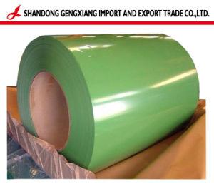 Fabricante Médio quente PPGI galvanizado revestido de cor/Prepainted bobinas de aço