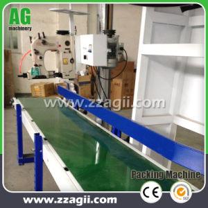 産業Simeの自動重量を量る米袋のムギの木製の餌のパッキング機械