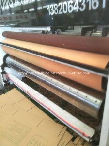 gewölbte Kasten Flexo Drucken Slotter Maschine der Pappe-4color