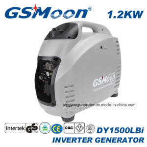4-тактный 1.2kVA 230V Питание портативных устройств цифровой бензин генератор инвертора