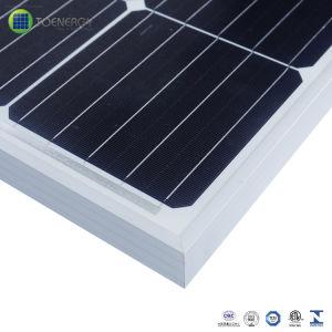 Vente chaude à haute efficacité 295W Mono Modules solaires pour système d'alimentation solaire