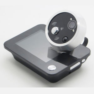 3.5 Zoll-Digital-Türklingelpeephole-Kamera mit dem videofoto-Nehmen