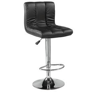 黒いカラーペダル(FS-B446)が付いている柔らかいパッドの革クッション棒椅子
