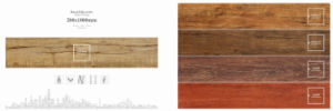 Tegel van de Bevloering van het Porselein van de decoratie de Materiaal Verglaasde