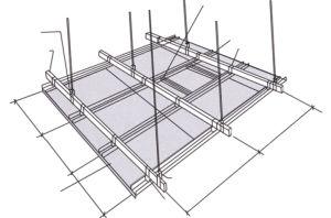 Scheda del silicato del calcio--Soffitto della parete asciutta (divisorio)