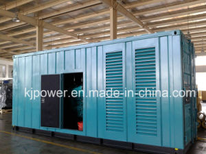 650kVA Soundproof Diesel Generator Set con Perkins Engine