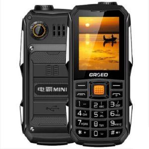 E6800 Polvo Wear-Resisting Grsed Teléfono Teléfono móvil funcional a los golpes Sos 6800mAh de energía de espera larga Sos FM Antorcha Banco de telefonía móvil celular