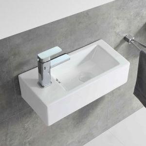 Casa de banho pequena penduradas na parede da Bacia de lavagem das mãos de cerâmica para o Project (5030L)