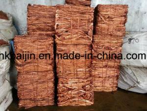 Alambre de cobre/Millberry chatarra chatarra de cobre del 99,9%