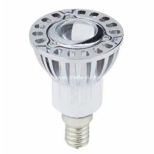 Dimmable 3W E14 Aluminium hohe Leistung LED Spotlight
