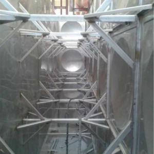 Grande depósito de água de incêndio de Aço Inoxidável Underground