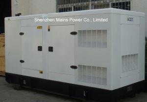 220kVA 176kwの予備発電のディーゼル発電機の無声おおい