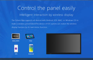 65  Monitor des Wand-Montierungs-Screen-TFT LCD