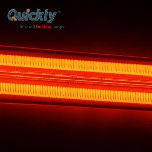 Onda Média do elemento de aquecimento do tubo de quartzo para impressão de vidro