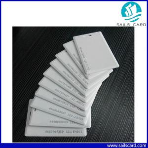 Biglietto da visita spesso di identificazione dello spazio in bianco di Tk4100 Em4100 per controllo di accesso
