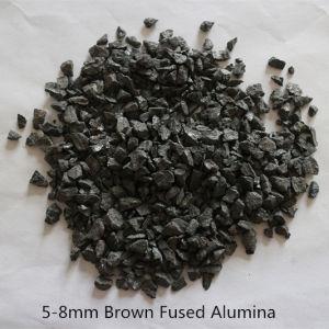 F36 песка обработка оксида алюминия и глинозема с предохранителем коричневого цвета