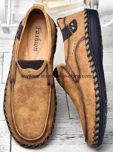 Nuevo diseño de los hombres vestidos moda casual confort zapatos de cuero (925)