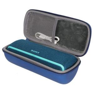 Sac de voyage dur résistant aux chocs EVA Boîtier noir pour haut-parleurs Bluetooth (FRT2-451)