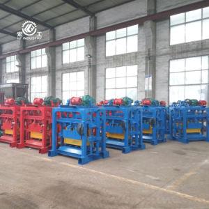 Fabbricazione concreta manuale di Blcok del cemento della macchina per fabbricare i mattoni