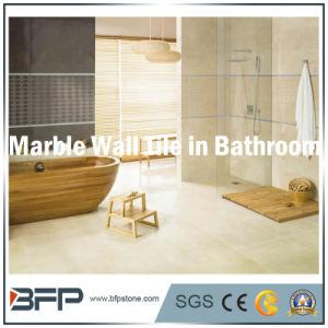 Mattonelle di marmo della parete della Cina nel colore crema per i ...