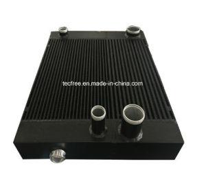 エンジニアの機械装置のアルミニウム棒版のラジエーターのクーラーの熱交換器