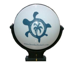 Personalizar el vacío exterior acrílico LED iluminado sesión