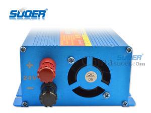 Suoer 1000W 24V de onda senoidal modificada Auto Inversor de potencia (FAA-1000B)
