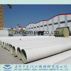 Tubo della plastica di rinforzo vetroresina del fornitore FRP GRP della Cina