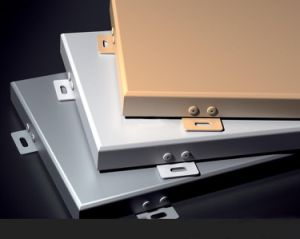 Non-Perforated 장식적인 알루미늄 천장판