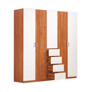 5 أبواب 4 ساحب خزانة ثوب رخيصة