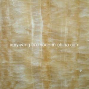 Heet verkoop de Opgepoetste Marmeren Plakken van het Onyx van de Honing (YQC)
